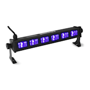 BUV63 LED Bar 6x3W UV LEDs schwarz