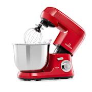 Bella Robusta Metal, kuchynský robot, 1200 W, 6 úrovní výkonu, 5,5 l, červený Červená