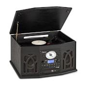 NR-620, DAB,  stereo sustav, drvo, gramofon, DAB+, CD player, crna boja Crna