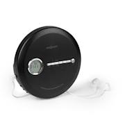 CDC 100 BT, discman, BT, CD, CD-R, CD-RW a MP3-CD, 2 x 1,5 V baterie, LCD, ASP, černý Černá