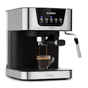 Arabica Espresso Machine 1050W 15 Bar 1.5L Touch Control Panel Stainless Steel
