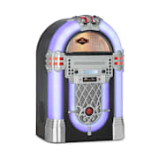 Kentucky Jukebox, BT, UKW-Radio, USB, SD, MP3, CD-Player, weiß