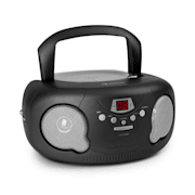 Black Bonbon CD boombox, CD player, bluetooth, FM, AUX ulaz, LED zaslon, ružičasti Crna