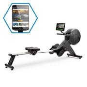 Stream M2, magnetický veslařský trenažér, LCD display, 16 úrovní, hliník