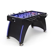 Arrowhead FootballTable 117 x 68 LED Lighting Autom. Goal Count Black