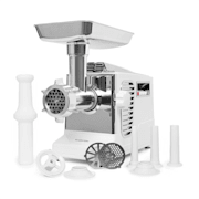 Kraftprotz Electric Mincer Meat Grinder 700 W Copper Motor White / Silver White