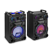 "VS12, Set de difuzoare active, 1200 Watt, 12 "", Sub, BT, USB, Port SD, slot pentru SD 1200 W"