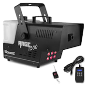 Rage 1500 LED Fog Machine 6 x 9W RGB LED 1500W 350m³ / min 3.5l Tank