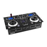 CDJ500, DJ Workstation, 200W, 2 CD-player MP3, bluetooth, 2 x USB port, 2-kanalna mikseta