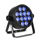 """BAC304 ProPar, projektor, 12 diod LED typu """"4 w 1"""" o mocy 8 W, spektrum barw RGBW, ściemniacz, pilot zdalnego sterowania"""
