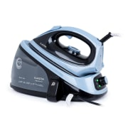 Speed Iron V2, parno glačalo, 2100 W, 1100 ml, EasyGlide, crno/plava Black_blue