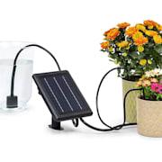 Greenkeeper Solar Bewässerungssystem Solarpanel 1.500 mAh 40 Pflanzen  Solarbetrieb