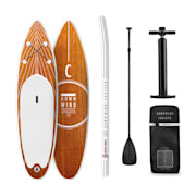Downwind Cruiser S SUP-Board - Aufblasbares Paddleboard Set 305x10x77 orange S - 305 x 10 x 77 cm