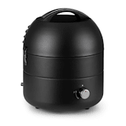 DareDevil, BBQ, plynový gril, 2,5 kW, Ø 29 cm, 4 osob, ocel, černý