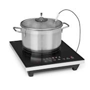 Cook n Roll Plaque à induction 2000 W minuterie 3 h 10 niveaux noir