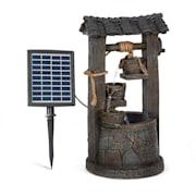 Speyer, vízesés szökőkút, napelemes szökőkút, kerti szökőkút, 4 szint, működés akkumlátorral