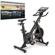 Evo Race, rower treningowy kardio, opaska do pomiaru pulsu, Kinomap, masa zamachowa 22kg, szary  Evo_Race_22_kg