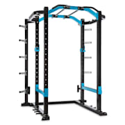 Amazor P Pro Rack Safety Spotter J-Cups Monkey Bar stål massiv