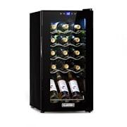 Shiraz 15 Slim Uno, borhűtő, 44 l, érintőképernyő, 135 W, 5-18 ° C, fekete 44 Litres / 15 Bottles