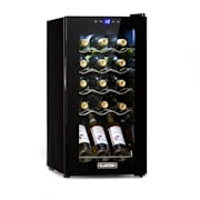 Shiraz 15 Slim Uno, vinoteka, 44 L, touch screen, 135 W, 5 – 18 °C, crna 44 Litres / 15 Bottles