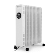 Thermaxx Heatstream, radiator na olje, 2500 W, 5–35 °C, 24-urni časovnik, bel Bela