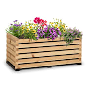 Modu Grow 100, grządka podwyższona, 100 x 45 x 50 cm, drewno sosnowe, barwa naturalna 100 cm