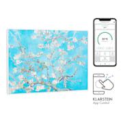Wonderwall Air Art Smart Radiateur infrarouge connecté  80x60cm 350 W  80 x 60 cm / Design: Blossoms