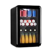 PopLife 65L, lodówka na napoje, 70 l, 0–10°C, wzornictwo retro Czarny