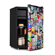 Cool Vibe 70+, lodówka, A+,70 litrów, koncepcja ViviArt, styl stickerbomb 70 Ltr