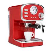 Espressionata Gusto, espresso kávovar, 1100 W, 15 Bar tlak Červená
