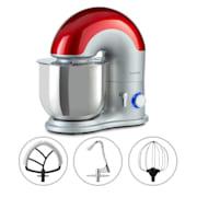 Delfino, kuhinjski robot, 1800W, 6 stupnjeva, 7 litara Srebro
