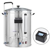 Brauheld Pro cuve de brasage 3300W 70L 30-100°C pompe de circulation inox