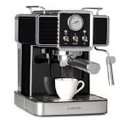Gusto Classico Machine à expresso 1350 watt 20 bars de pression Réservoir d'eau : 1,5 litre Noir