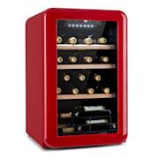Vinetage 19 Uno, chłodziarka na napoje, 70 l, 4–22°C, stylistyka retro Czerwony