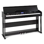 SCHUBERT Subi 88 Harmony, digitálne piano, 88 kláves, kladivková mechanika, 160 rytmov, 80 demo piesní Čierna
