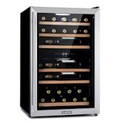 Vinamour 37 Duo, охладител за вино, 2 охладителни зони, 112 л, 37 бутилки