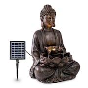 Dharma, szoláris szökőkút, LED, 48 × 72 × 41 cm (SZ × M × M), polirezin