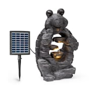 Albert, solární fontána, LED, 27,5 x 50 x 19,5 cm (Š × V × H), polyresin