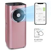 Kraftwerk Smart 10K Klimaanlage 3-in-1 10000 BTU App-Steuerung  Fernbedienung Roségold | 10.000 BTU