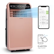 Metrobreeze New York Smart 12k, мобилен климатик, 12000 BTU / 3,5 kW, енергиен клас A, дистанционно управление, розово-златно Розово Злато | 12.000 BTU