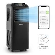 Pure Blizzard Smart 9k, mobilna klimatska naprava, 9000 BTU/2,6 kW, energijski razred A, daljinski upravljalnik Črna | 9.000 BTU