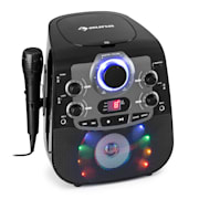 StarMaker 2.0, karaoke sustav, bluetooth funkcija, CD uređaj, uključujući mikrofon Crna