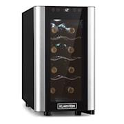 Reserva 8 Slim Uno Weinkühlschrank 23 Liter 8 Flaschen 11-18 °C 26  dB Edelstahl