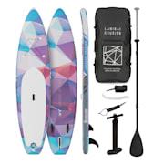Lanikai Cruiser 10.8, napihljivi paddleboard, set s SUP desko, 330 × 77 × 15 Rdeča
