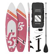 Lanikai Cruiser 9.8, napihljivi paddleboard, set s SUP desko, 305 × 77 × 10 russet