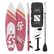 Lanikai Cruiser 10.8, napihljivi paddleboard, set s SUP desko, 330 × 77 × 15 russet