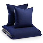 Ropa de cama Soft Wonder-Edition 155x200 cm Azul oscuro