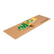 Indoorboard Limited Edition Wakeboard, ploča za balansiranje, podložak, valjak, drvo/pluto Plava
