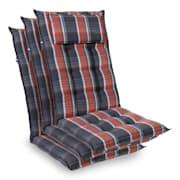 Crna / Crvena | 3 x jastuk sjedala