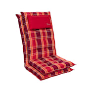 Punainen ruudullinen | 2 x istuintyyny